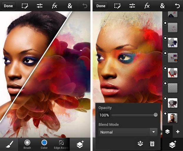 Скачать программу для андроид фотошоп