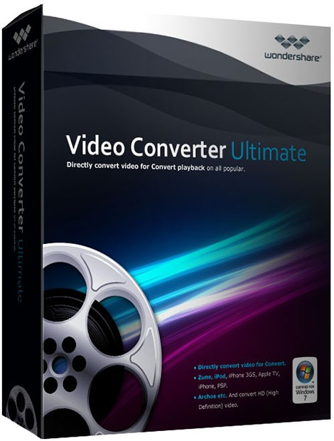 Wondershare Video Converter торрент + crack