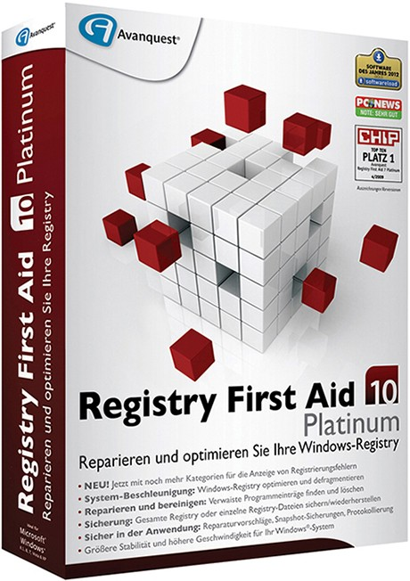 Registry First Aid Platinum 11 + ключ торрент