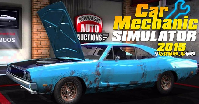 Русский Car Mechanic Simulator 2015 торрент
