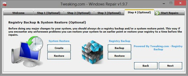 Windows Repair + Portable - исправить Windows