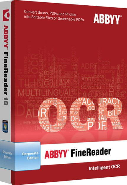 Русская версия ABBYY FineReader 12 + серийный номер торрент