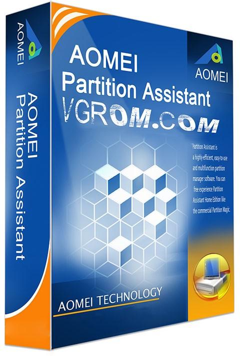 Aomei partition assistant technician edition 6. 6 (2017) рс | +.
