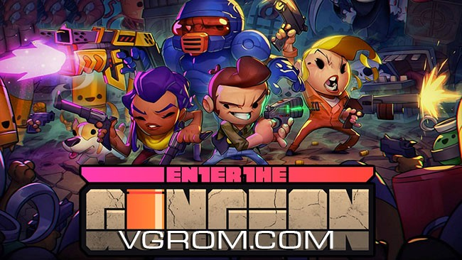 Игра Enter The Gungeon на русском торрент