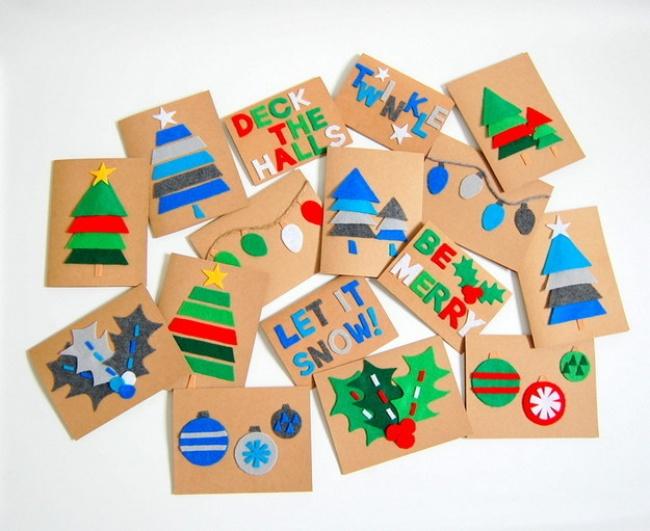 Февраля, открытки с новым годом с детьми 5 лет