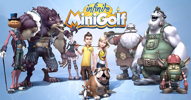 Infinite Mini Golf (2017) - мини-гольф на компьютер