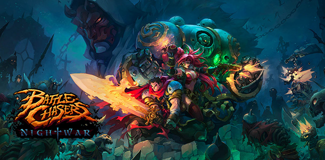 Игра Battle Chasers: Nightwar (2017) - торрент