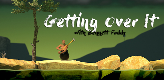 Getting Over It with Bennett Foddy (2017) - скачать торрент